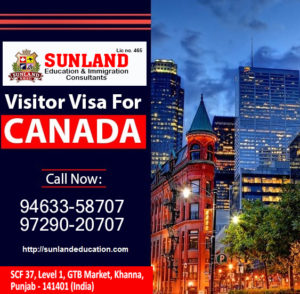 Visitor Visa for Canada